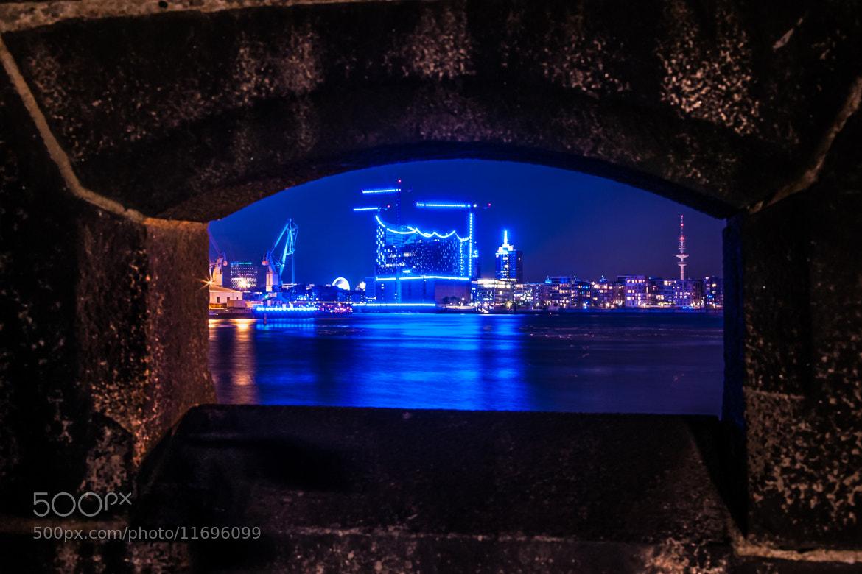 Photograph Hamburg blue port 2012 by Enrico Berger on 500px