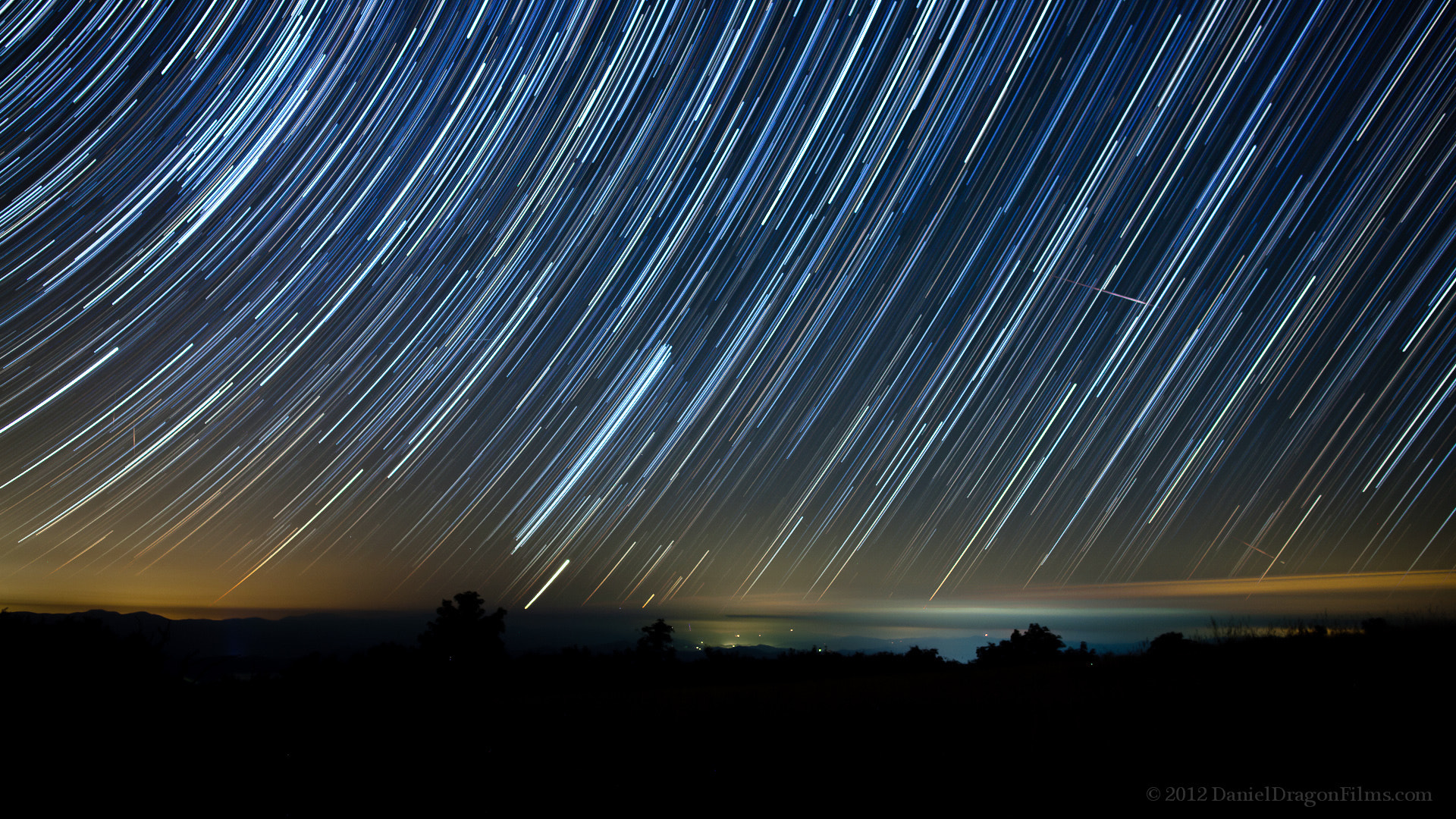 Photograph Perseid Meteor Startrails by Daniel Lowe on 500px