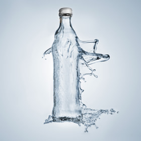 Liquid bottle by Sylvain Millier (smillier)) on 500px.com