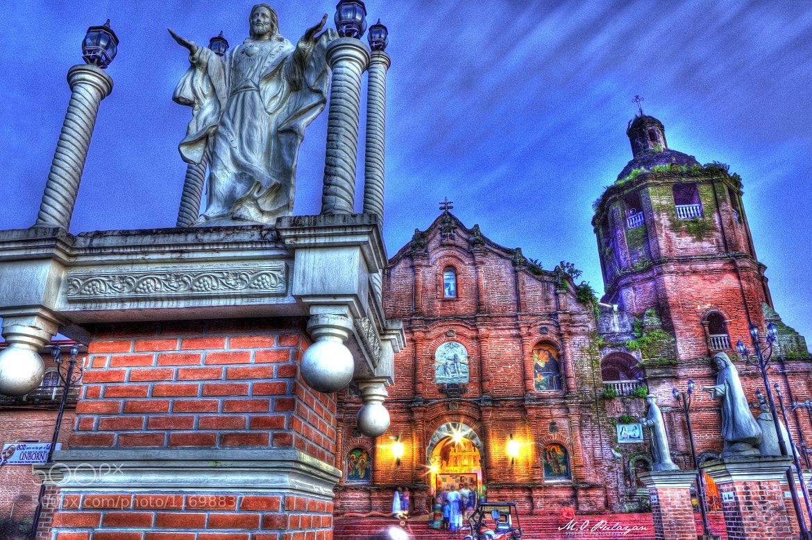 Photograph Lilio Church by Melv Pulayan on 500px