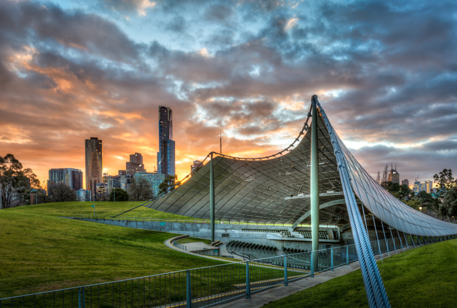 The Sidney Myer Music Bowl, Melbourne, Australia by Will Faulkner on 500px.com