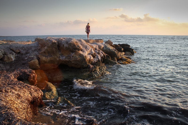 Photograph Staring at the Mediterranean by Lucky Shot on 500px