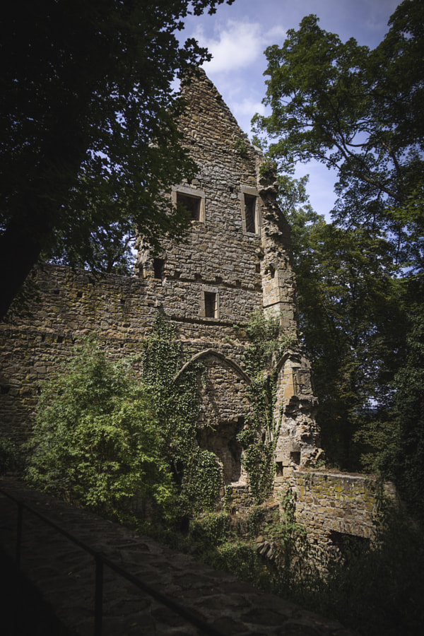 Ruins of Disibodenberg Monastery #2 by Son of the Morning Light  on 500px.com