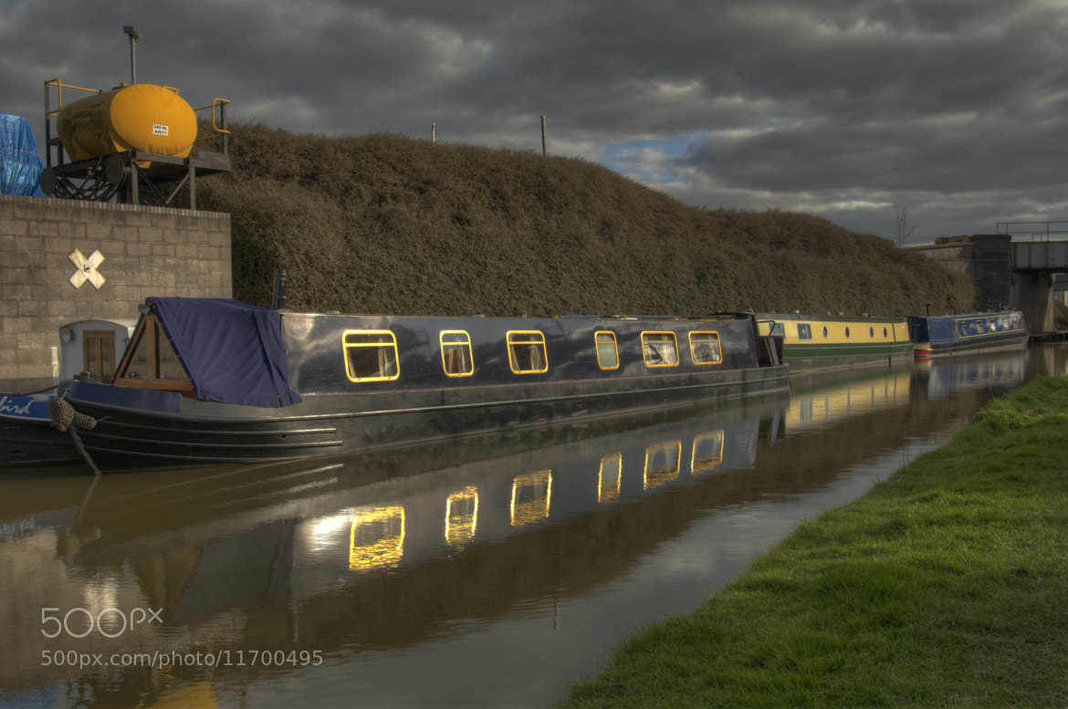 Photograph canal boat by Mike Janik on 500px