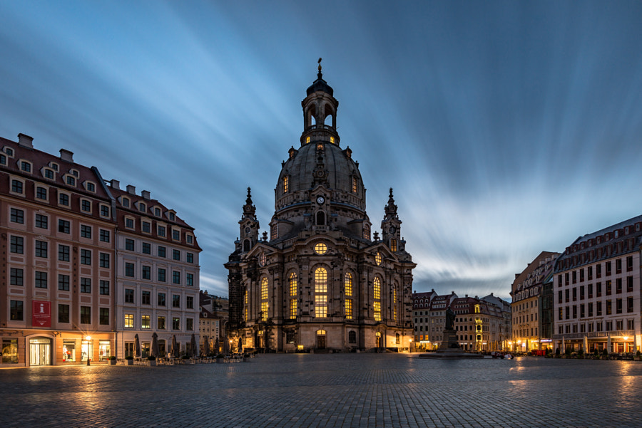 Frauenkirche Dresden at night by Robin  Oelschlegel  on 500px.com