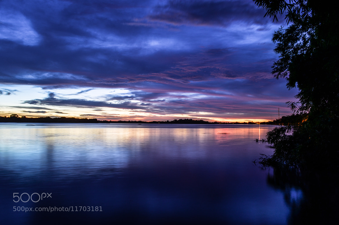 Photograph Sunset Orinoco River by Dave Mata on 500px