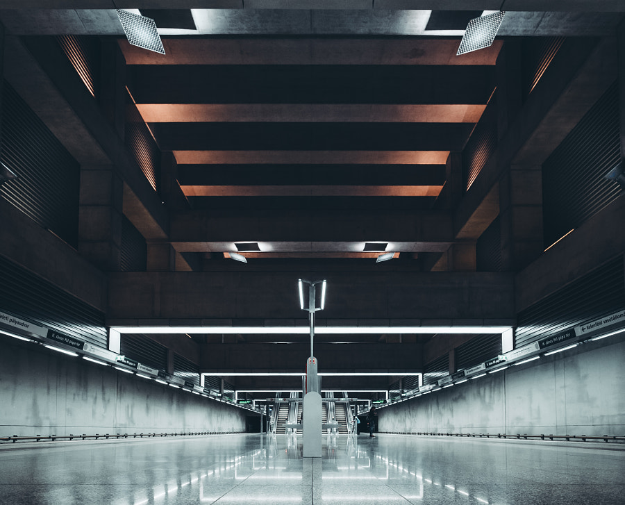 Budapest Metro Line by Simon Alexander on 500px.com