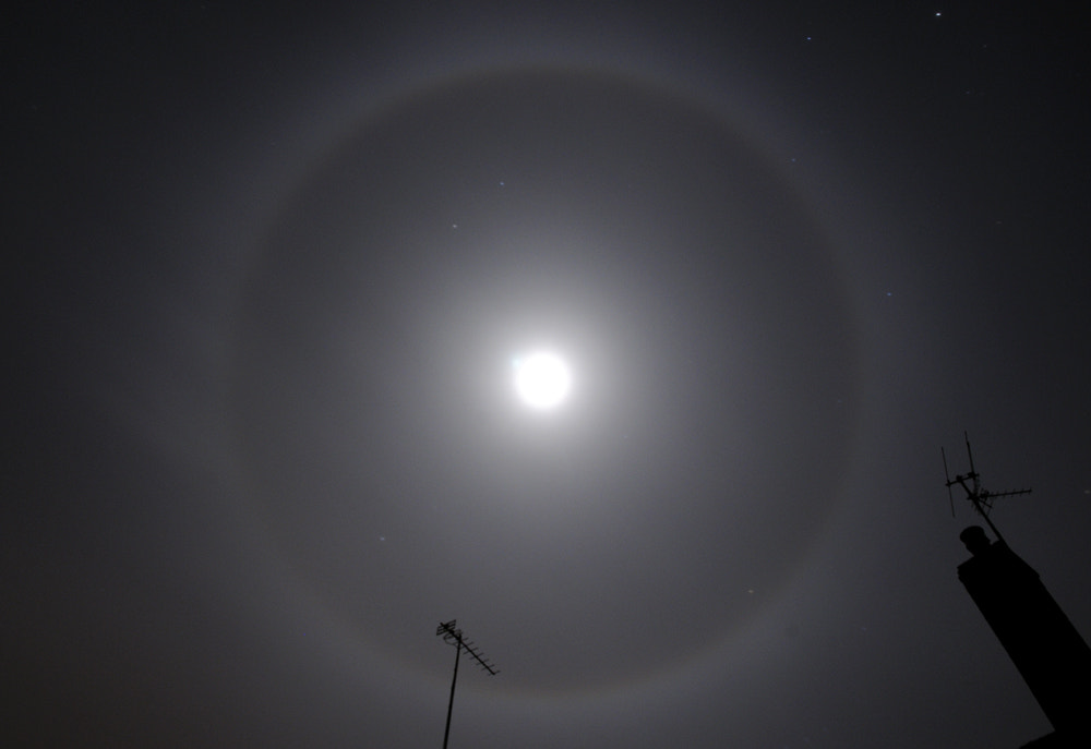 Photograph Moon halo by Kevin  Keatley on 500px
