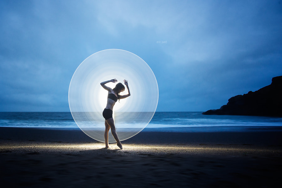 Circular light-painting by Eric  Paré on 500px.com