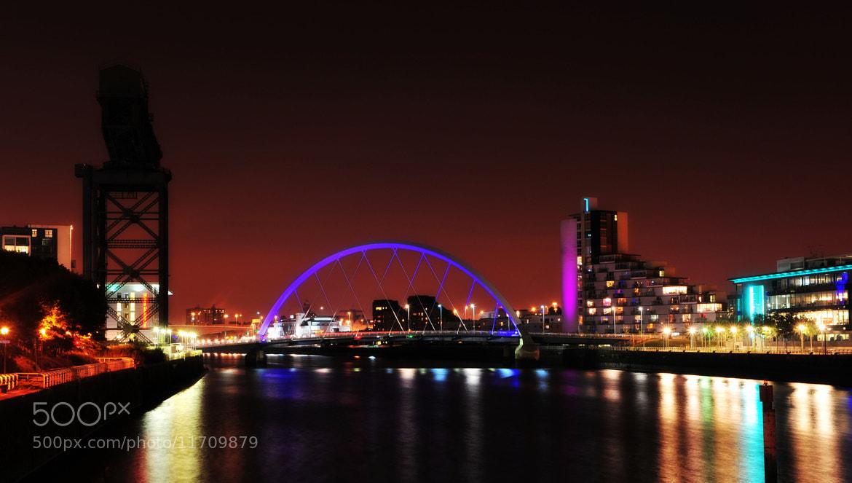 "Photograph ""Squinty Bridge"" Glasgow by Iain Blake on 500px"