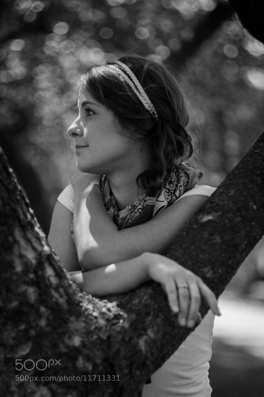 Photograph Nicole, Tree by Steve Losh on 500px
