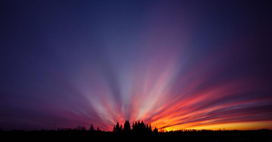 light explosion by Mikhail Elfimov on 500px.com