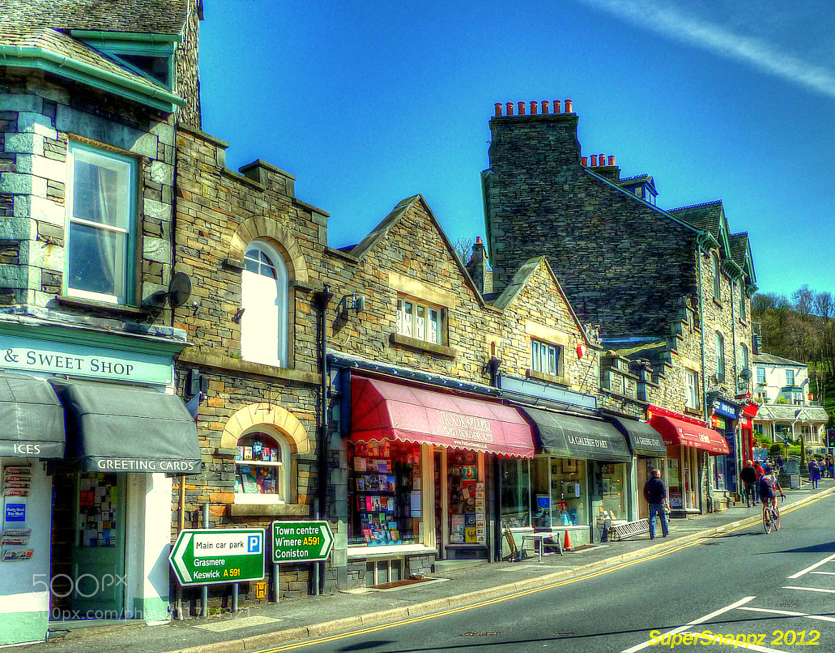 Photograph Ambleside Town by Super Snappz on 500px