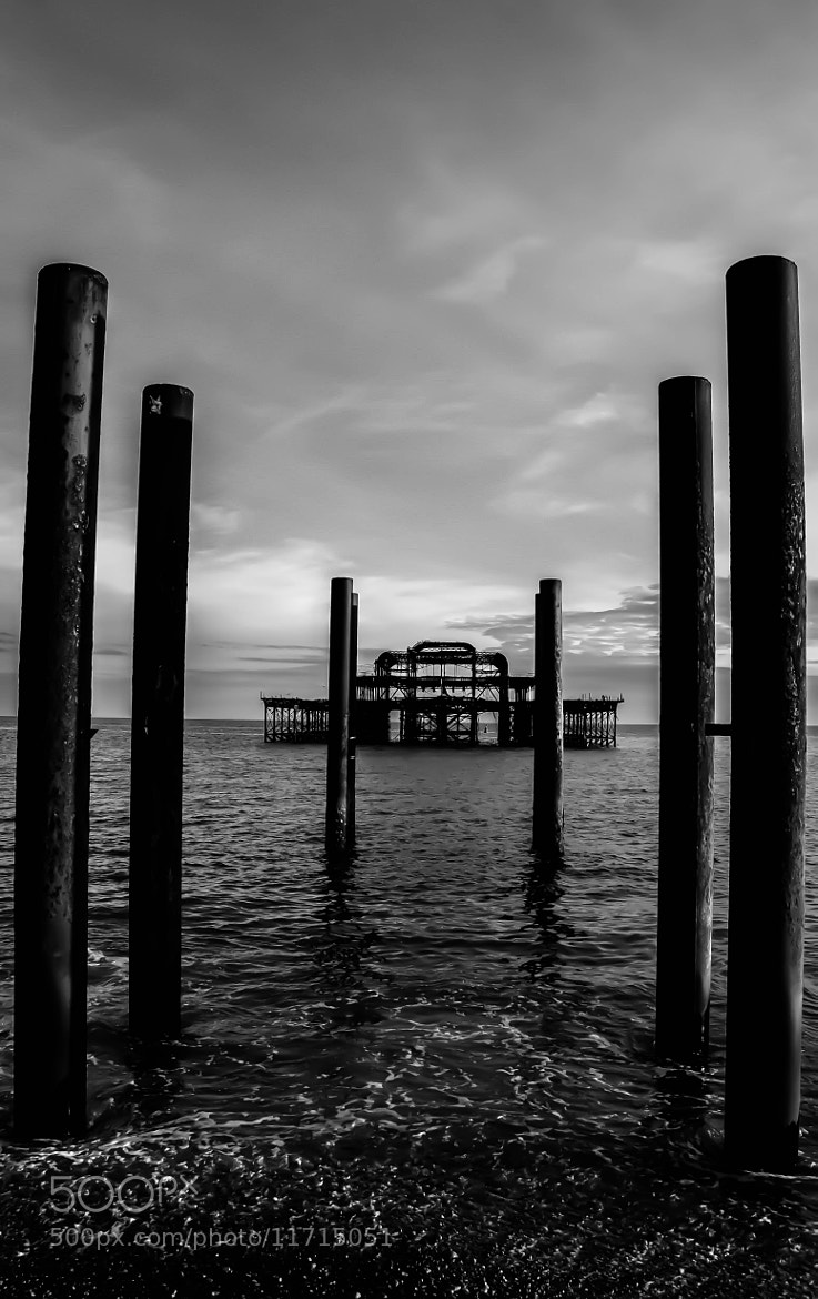 Photograph The West Pier by julian john on 500px