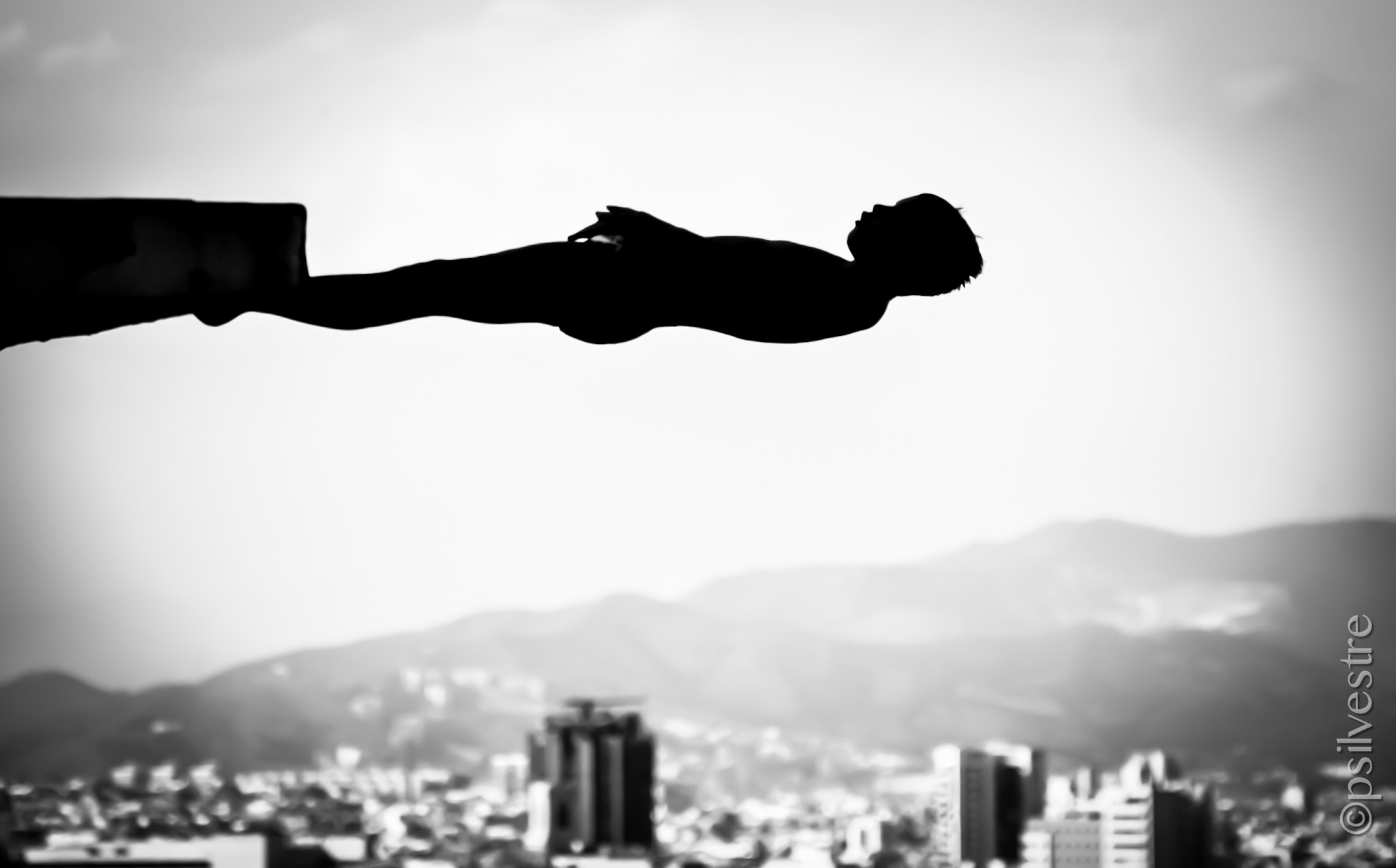Photograph The Diver Silhouette  by Pilar   Silvestre             *Moneypenny* on 500px