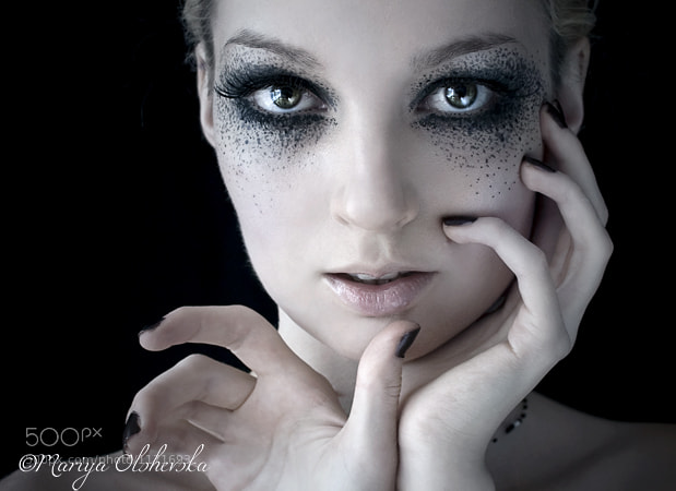 make up experiment:)