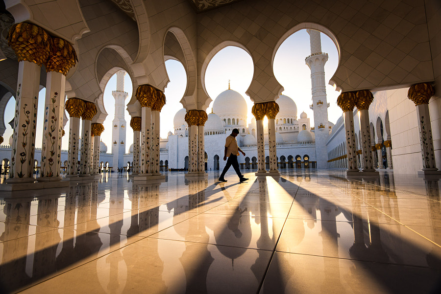 Sheikh Zayed Grand Mosque by Pete DeMarco  on 500px.com