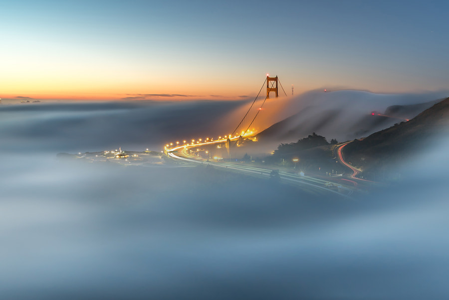 Tule Fog Sunrise by Ed Francisco on 500px.com
