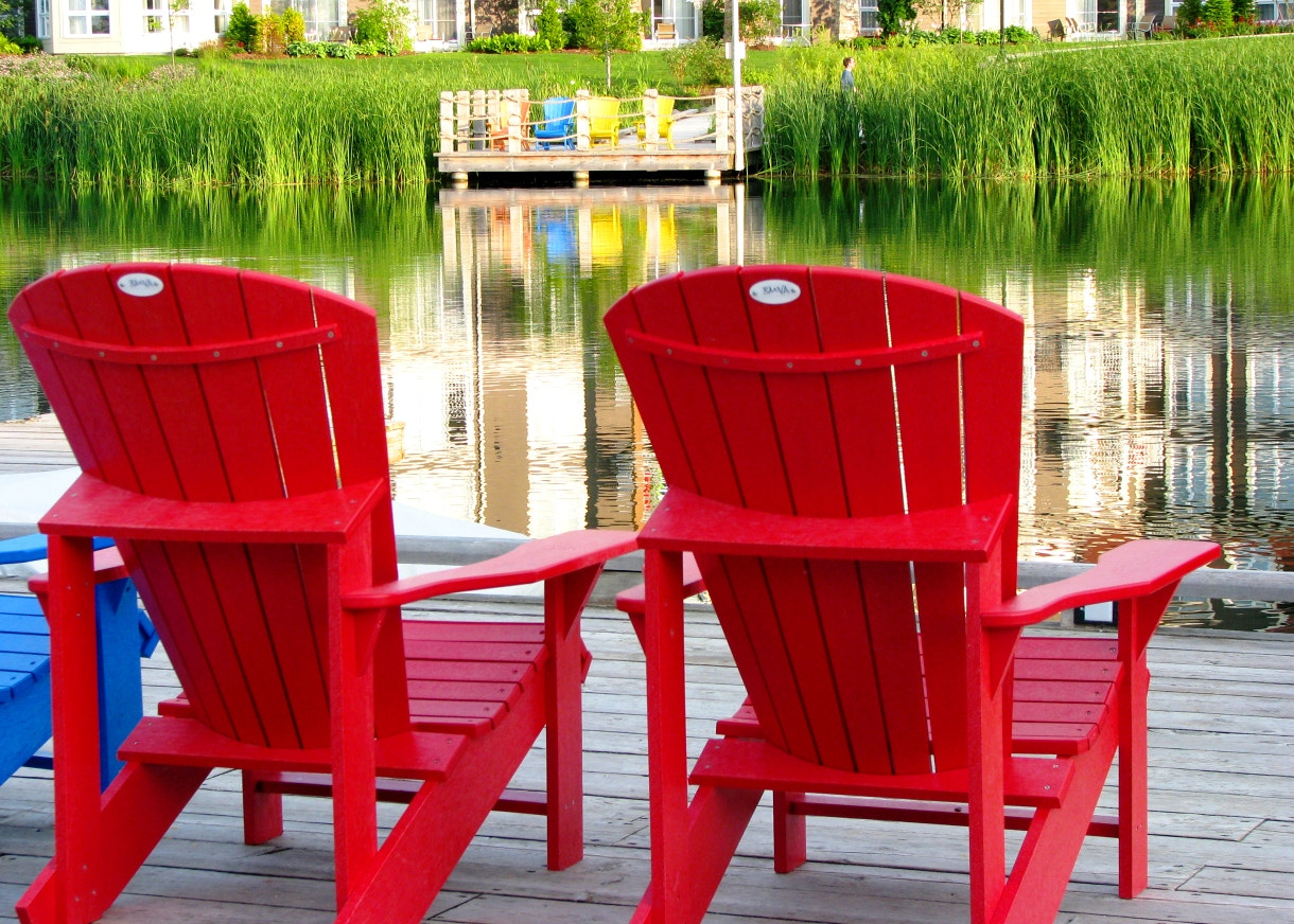 Photograph Red Chairs by Adrian Berg on 500px