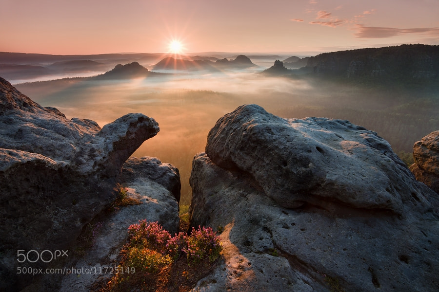 Photograph Sunrise on the rocks by Daniel Řeřicha on 500px