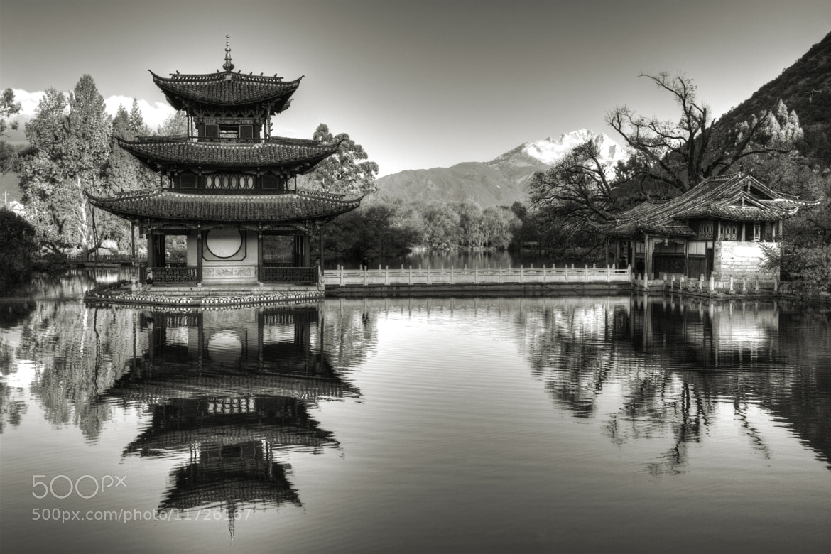 Photograph Tranquility - B&W by Chaluntorn Preeyasombat on 500px