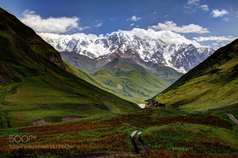 Photograph Shkhara Mountain, Svaneti, Georgia by Roland Shainidze on 500px