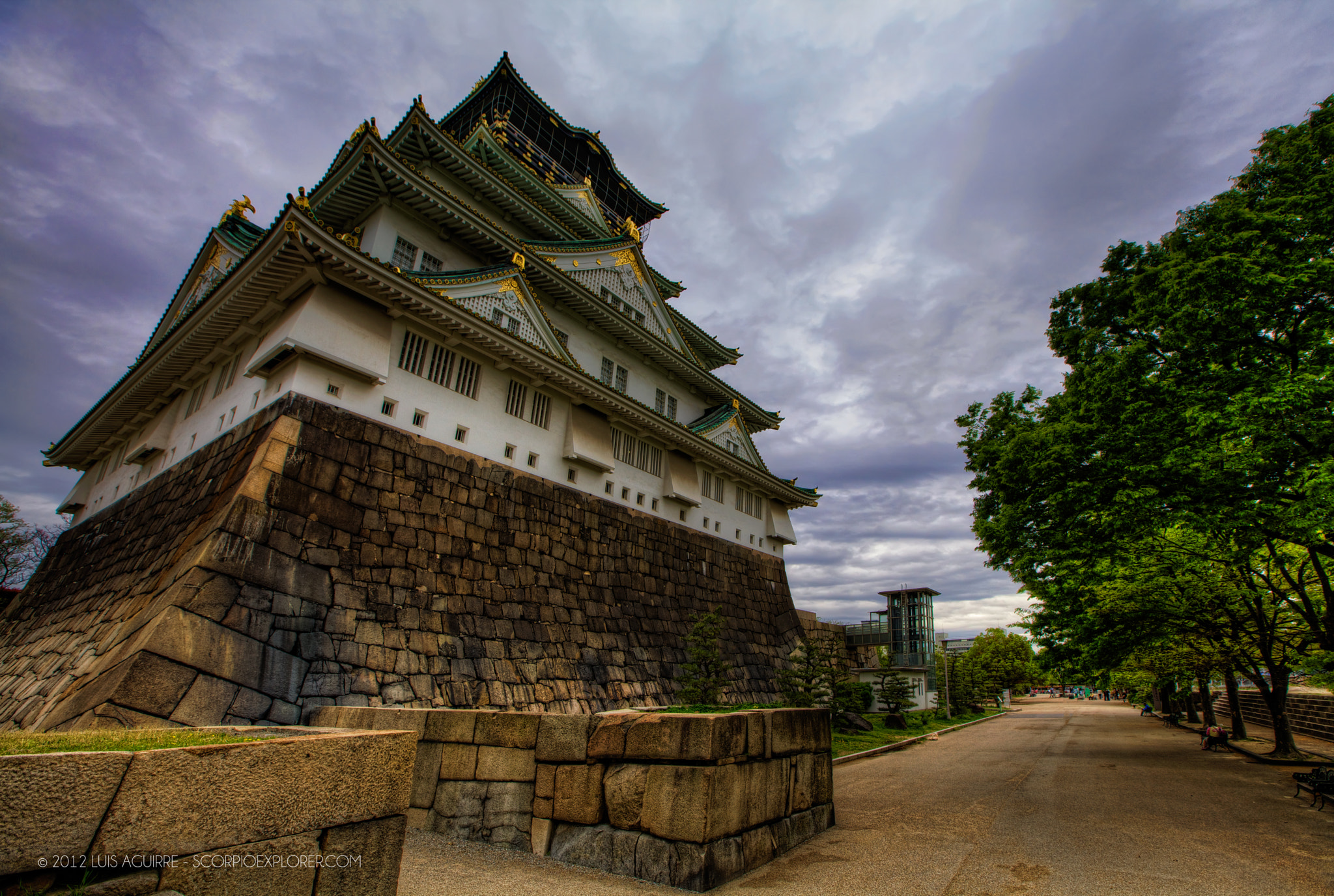 Photograph Osaka Castle by Luis Aguirre on 500px
