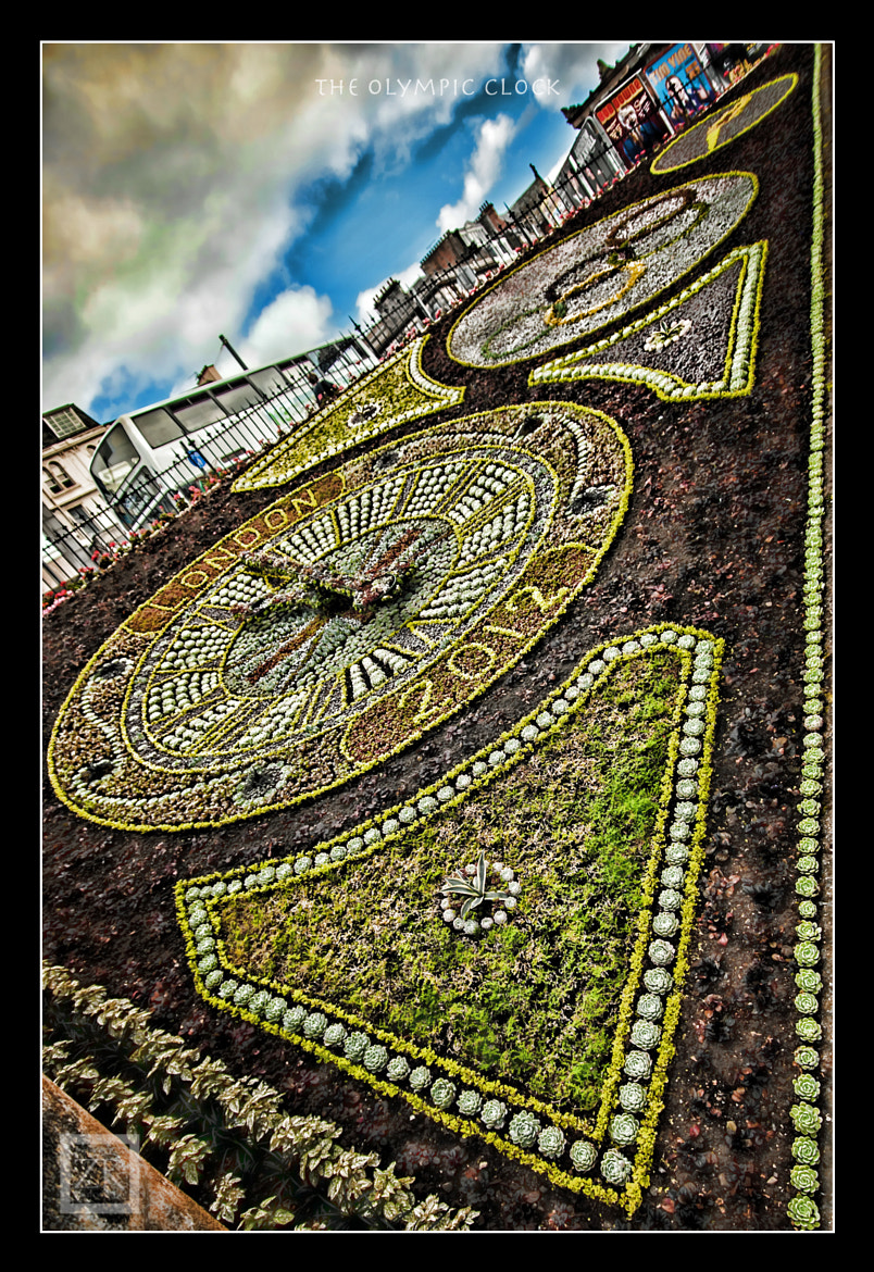 Photograph Edinburgh Flower Clock by Zain Kapasi on 500px