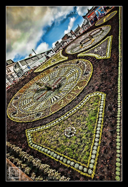Photograph Edinburgh Flower Clock by Zain Kapasi on 500px