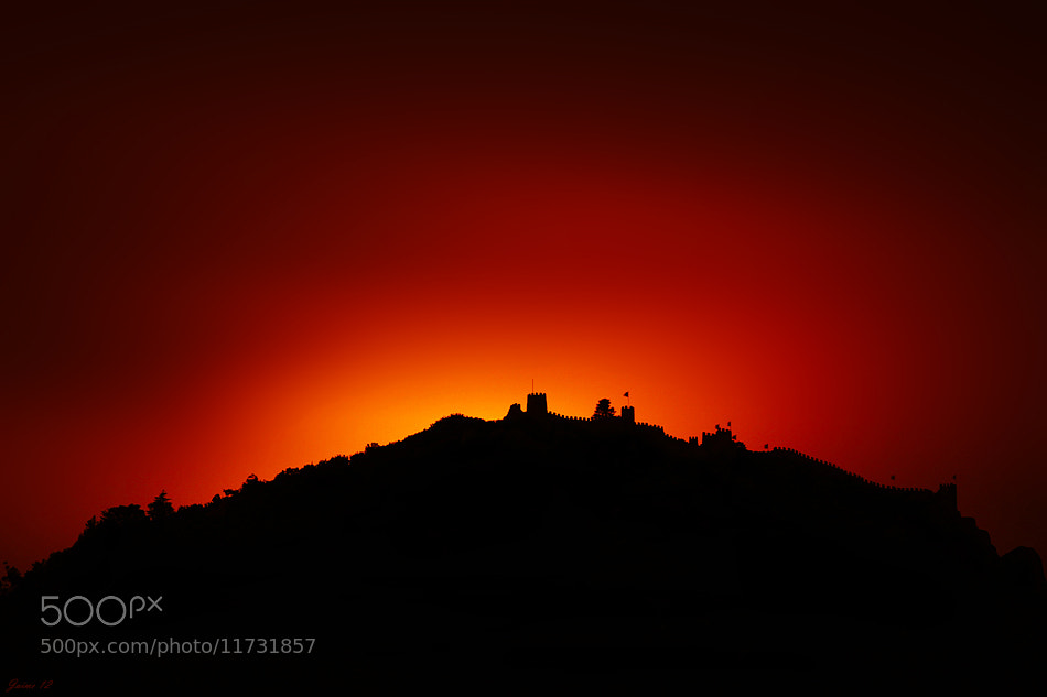 Photograph The Castle on Fire by Jaime Carvalho on 500px