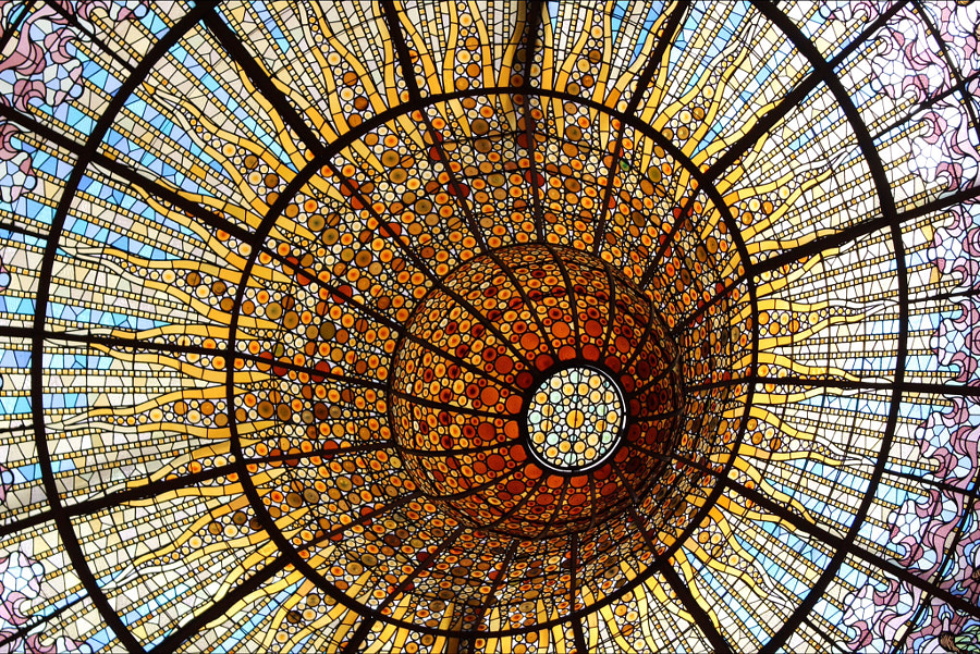 Ceiling of glass by Sam Gemmill on 500px.com
