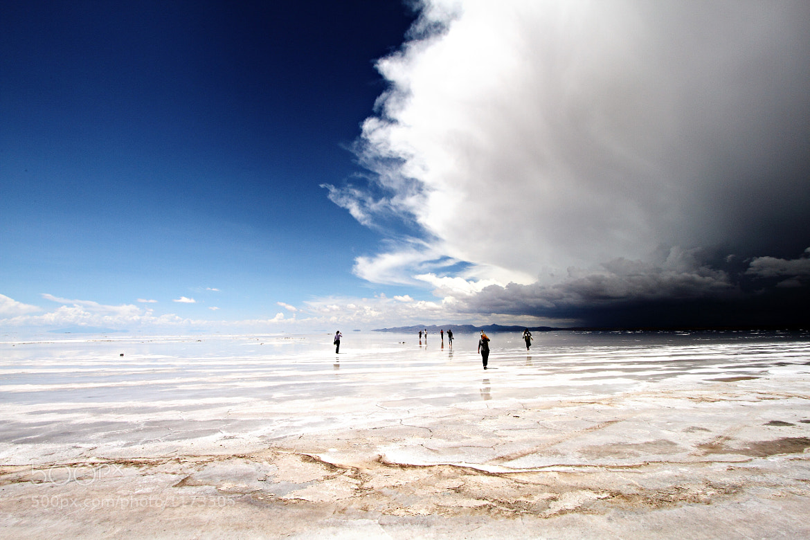 Photograph Storm Over the Salar de Uyuni by Nicholas Leslein on 500px