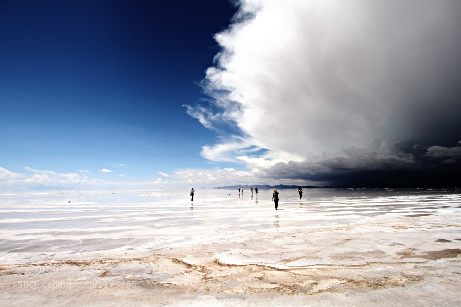 Storm Over the Salar de Uyuni by Nicholas Leslein (nleslein) on 500px.com