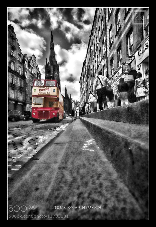 Photograph Open top tour bus in Edinburgh by Zain Kapasi on 500px
