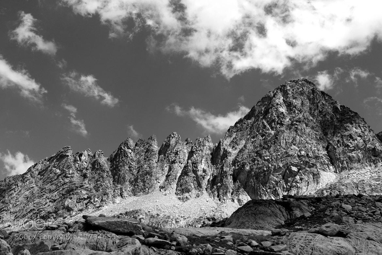 Photograph The Saw Mountain by Nicolas SALVA on 500px