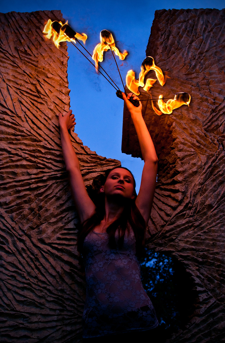 Photograph The fire fairy by Alluya Lillia on 500px