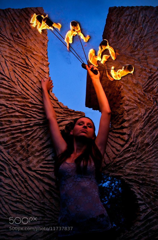 Photograph The fire fairy by Alluya Lillia on 500px