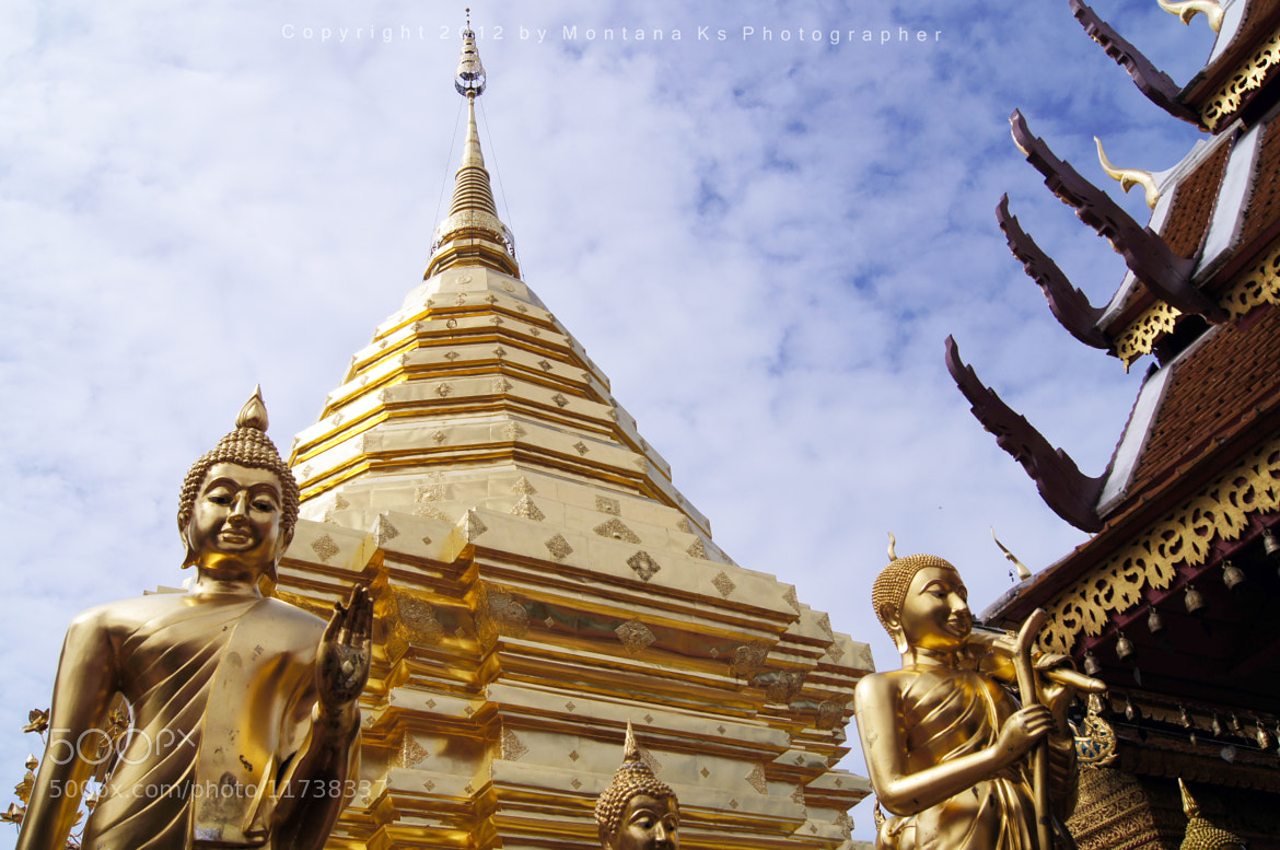 Photograph Doi Suthep at Chiang Mai by Montana Ks on 500px