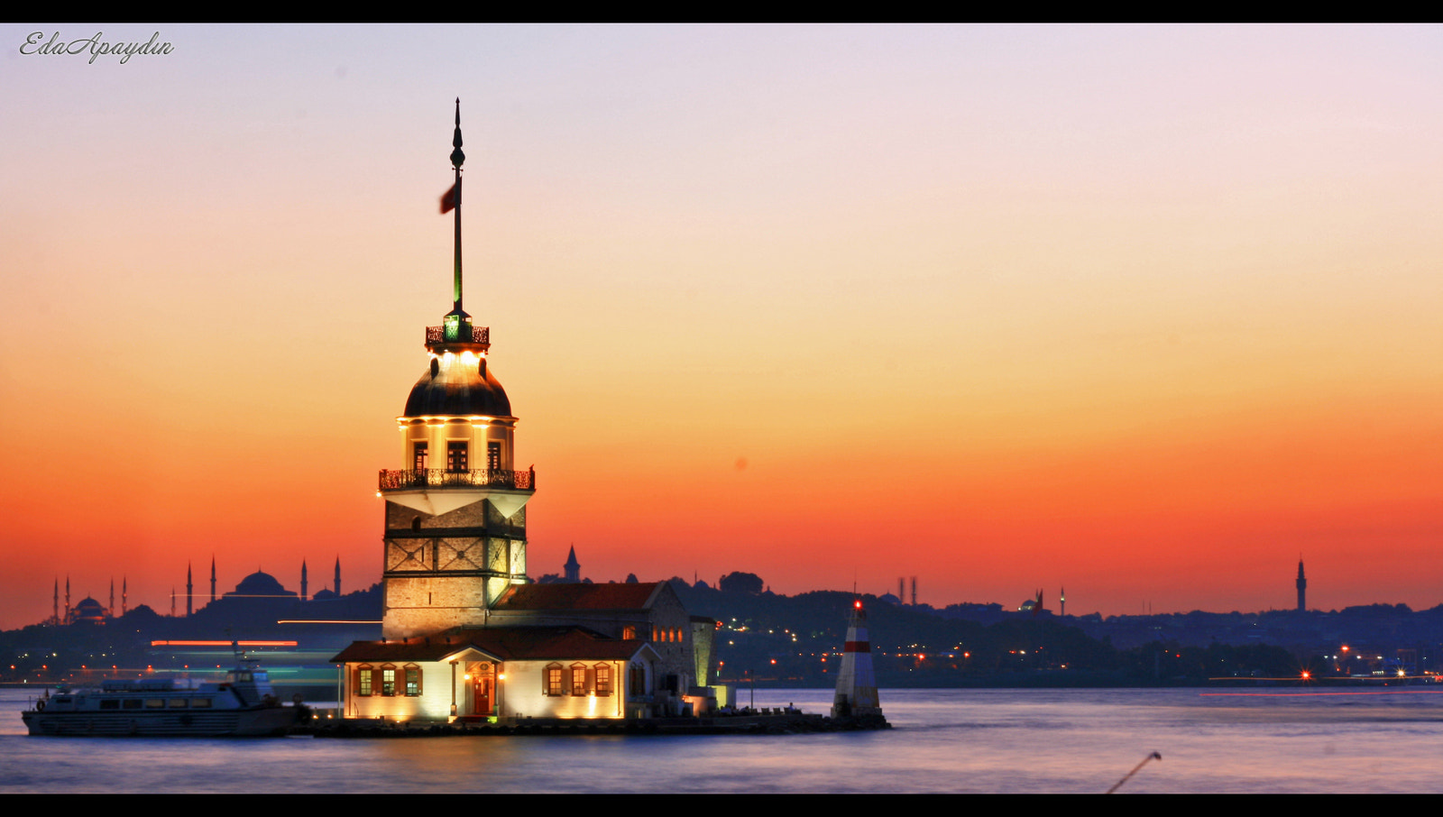 Photograph The Maiden's Tower by Eda Apaydın on 500px