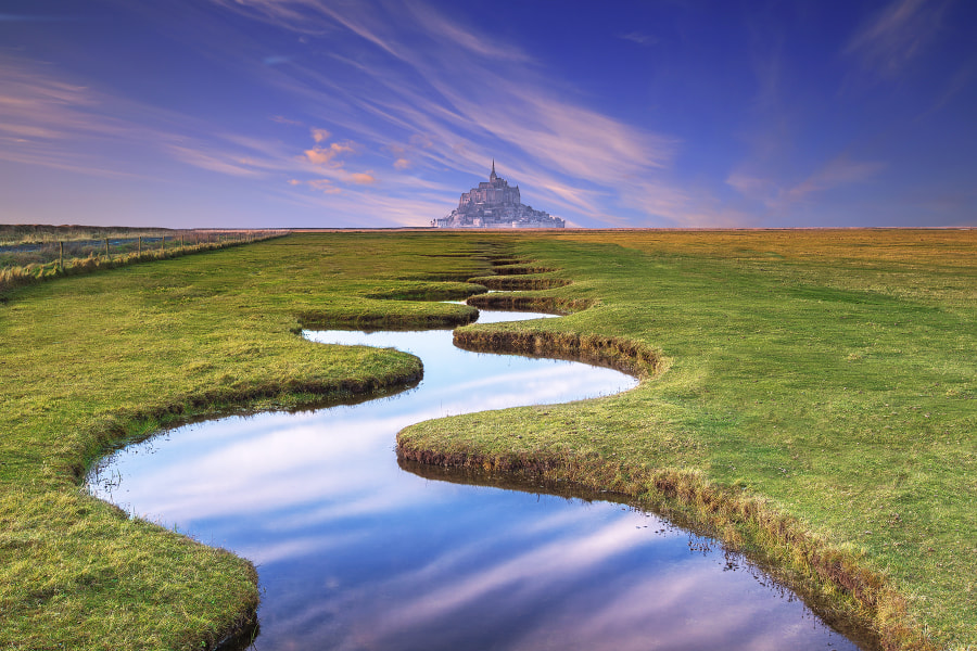 Photograph Le Mont Saint-Michel by Florent Criquet on 500px