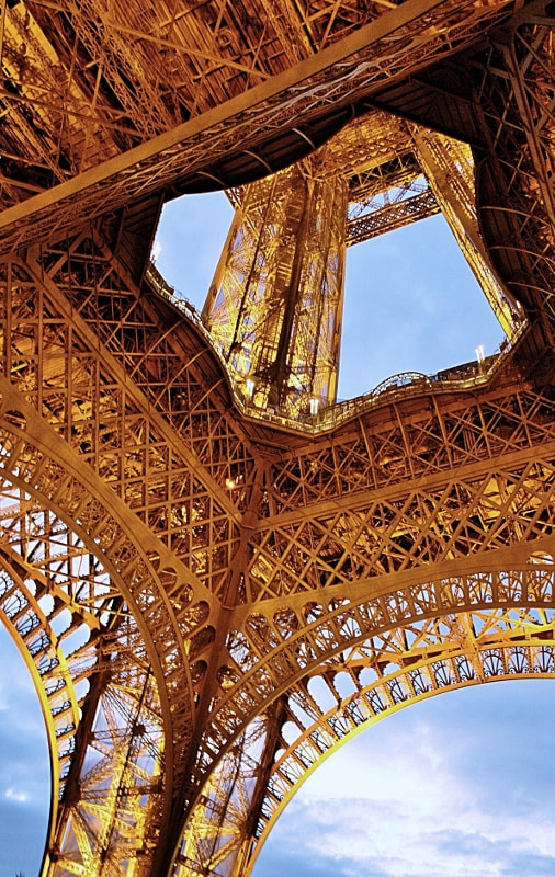 Photograph new Angle of Eiffel .... by Motahareh SK on 500px
