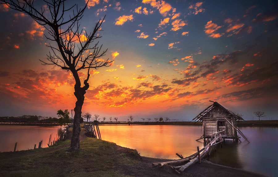 sunset at Tanjung Kait by Ivan Lee on 500px.com
