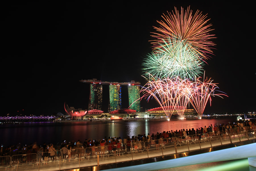 SG50 Golden Jubilee Special Preview Fireworks