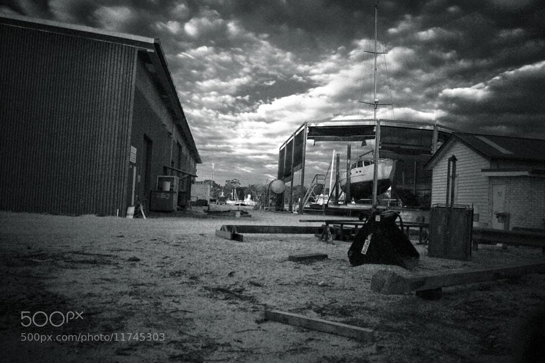 Photograph Boatyard Paynesville by Ashley Davies on 500px