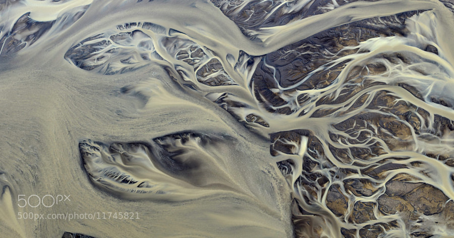 Photograph Ethereal pattern of the real river by Andre Ermolaev on 500px