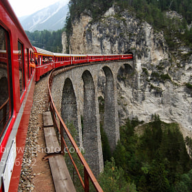 Glacier Express by Kevin Brown (kbrophoto)) on 500px.com