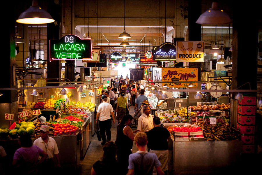 Grand Central Market de Marc Blackwell en 500px.com
