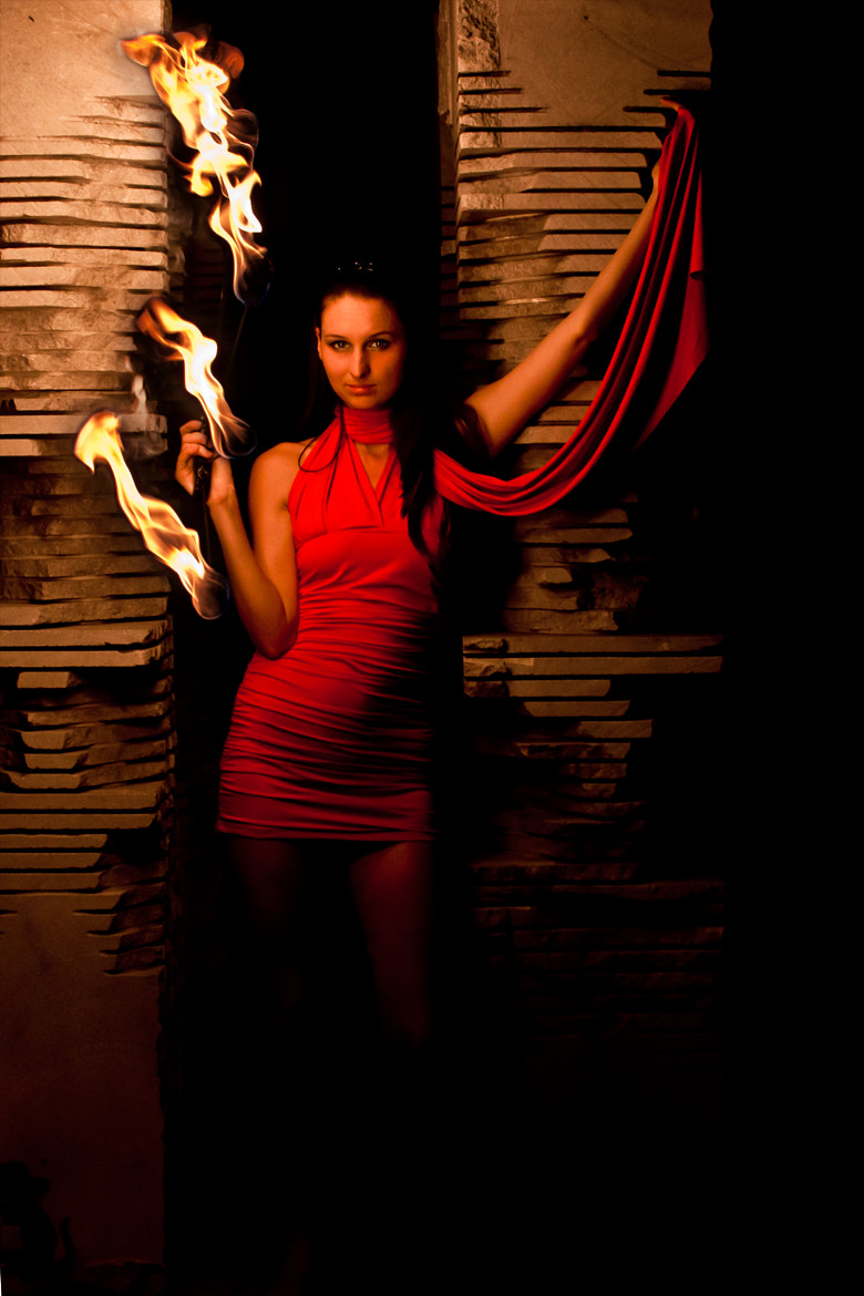 Photograph Lady in red by Alluya Lillia on 500px
