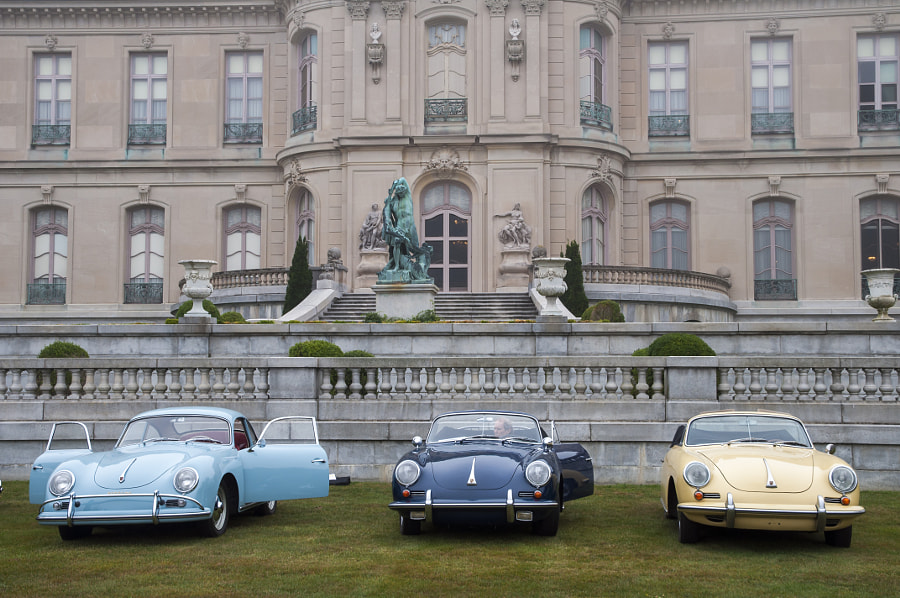 Concours at the Elms Mansion