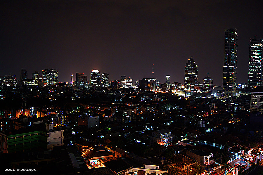 Photograph Hallo Jakarta by aan mamesa on 500px